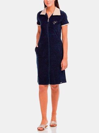 Plážové šaty Urania 12580-180 modrá - Vamp modrá