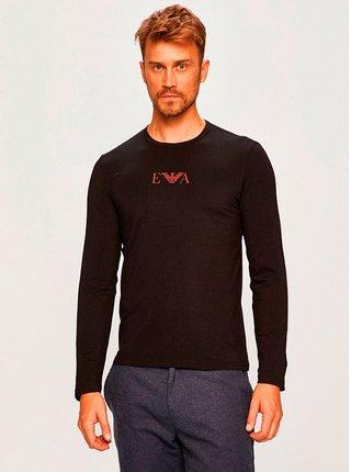 Pánské tričko 111653 9A715 00020 černá - Emporio Armani
