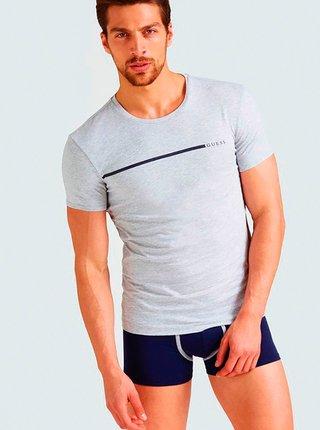Pánské tričko 2pcs U92G10JR00A-HE90 bílošedá - Guess bílo-šedá