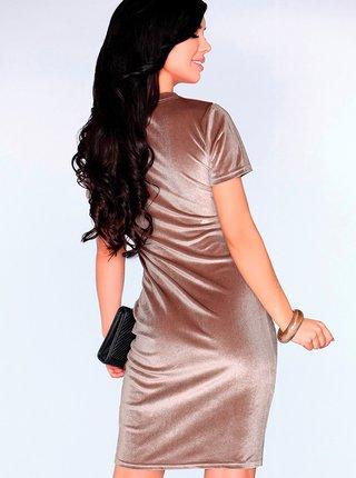 Dámské šaty model P30272 - Merribel béžová