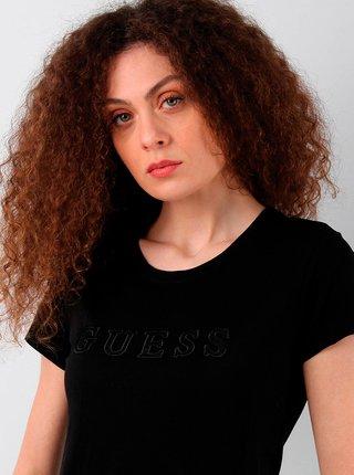 Dámské tričko O1GA05K8HM0 - JBLK černá - Guess černá
