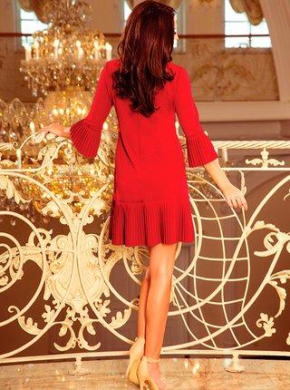 Dámské šaty 228-4 - NUMOCO bordo
