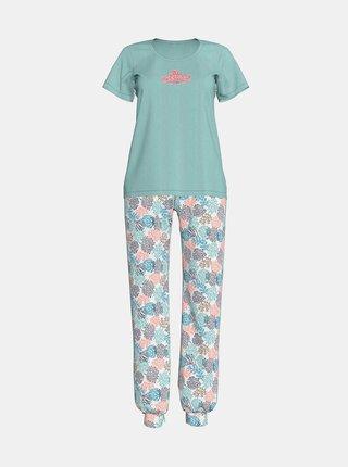 Dámské pyžamo 12919-492 zelená - Vamp