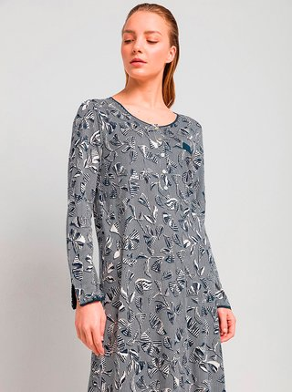 Dámská noční košile 13086 - Vamp modro-bílá