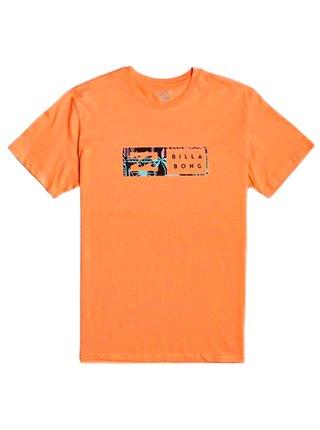 Billabong INVERSED DUSTY ORANGE pánské triko s krátkým rukávem - oranžová
