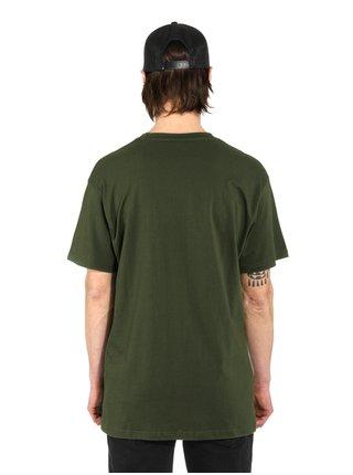 Horsefeathers GLOSS olive pánské triko s krátkým rukávem - zelená