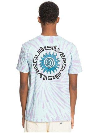 Quiksilver SLOW LIGHT BLUE TINT pánské triko s krátkým rukávem - modrá