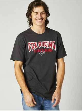 Fox Roadie Premium BLACK VINTAGE pánské triko s krátkým rukávem - šedá