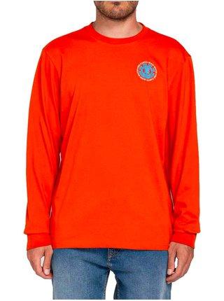 Element SEAL BP SPICY ORANGE pánské triko s dlouhým rukávem - červená