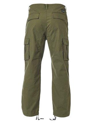 Fox Recon Stretch Cargo Olive Green plátěné kalhoty pánské - zelená