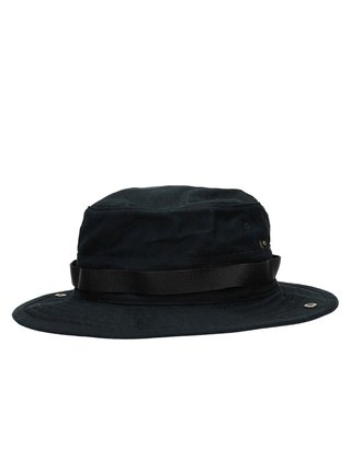 RVCA BEDWIN BOONIE black klobouk - černá