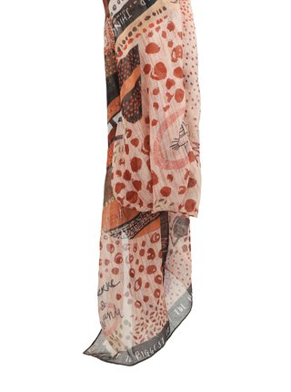 Anekke pudrový šátek Kenya