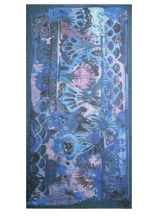Anekke modrý šátek Nature