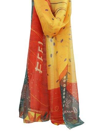 Anekke barevný šátek Kenya