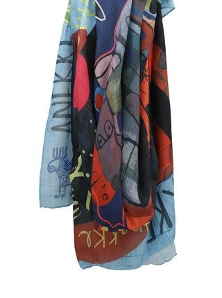 Anekke tmavě modrý šátek Nature