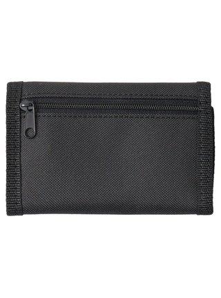Dc RIPSTOP 2 black/white pánská značková peněženka - černá