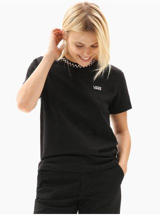 Vans PASTEL SKATE black dámské triko s krátkým rukávem - černá