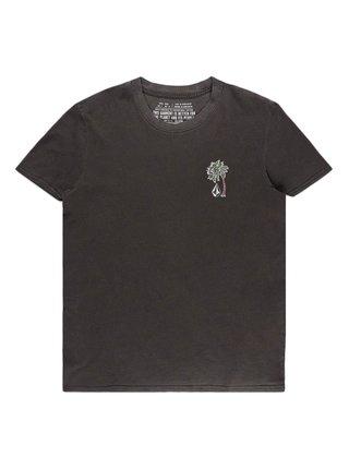 Volcom Lock It Up black dámské triko s krátkým rukávem - černá