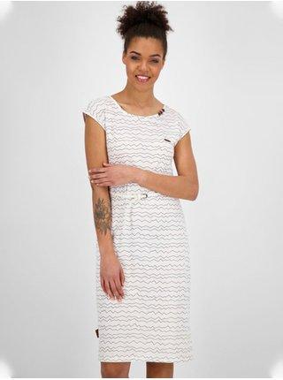 Alife and Kickin MelliAK white krátké letní šaty - bílá