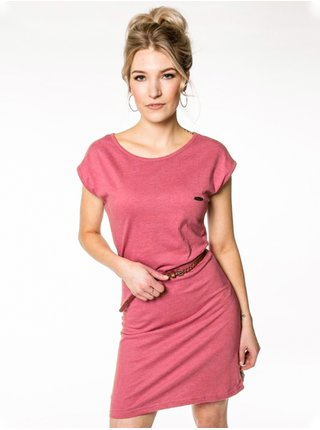 Alife and Kickin ElliAK BRICK krátké letní šaty - růžová