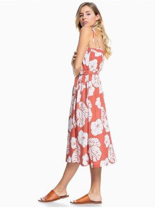 Roxy NOWHERE TO HIDE MARSALA ISHA dlouhé letní šaty - bílá