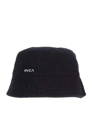 RVCA DROP IN THE washed black klobouk - černá