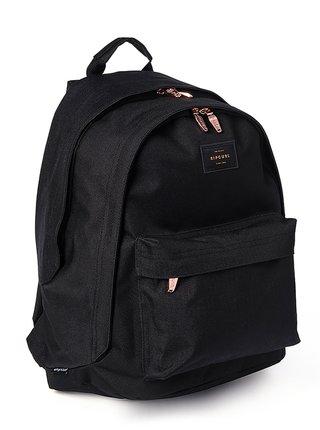 Rip Curl DOUBLE DOME ROSE GOL black batoh do školy - černá
