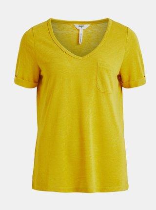 Tričká s krátkym rukávom pre ženy .OBJECT - žltá