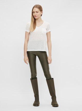 Tričká s krátkym rukávom pre ženy .OBJECT - biela