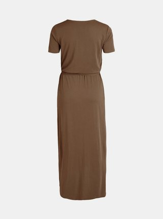 Letné a plážové šaty pre ženy .OBJECT - hnedá