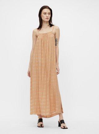 Letné a plážové šaty pre ženy .OBJECT - oranžová