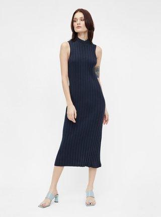 Šaty na denné nosenie pre ženy .OBJECT - tmavomodrá