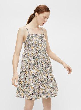 Letné a plážové šaty pre ženy .OBJECT - krémová