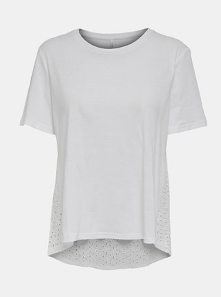 Bílé basic tričko ONLY Mette