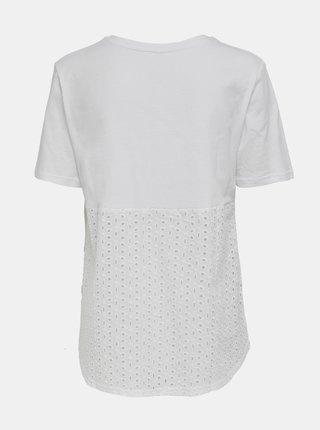 Biele basic tričko ONLY Mette