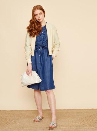 Modré košilové džínové šaty ZOOT Emilie