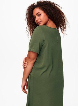 Zelené šaty ONLY CARMAKOMA