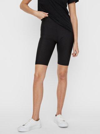 Černé krátké legíny Noisy May Parla Biker shorts