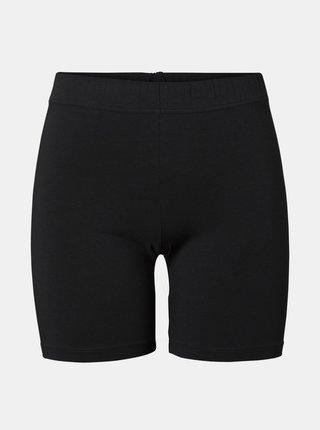 Černé krátké legíny Noisy May Laila Biker shorts