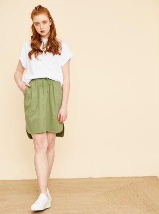 Zelená sukňa s vreckami ZOOT Baseline Otelia