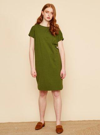 Zelené basic šaty ZOOT Baseline Seraphina