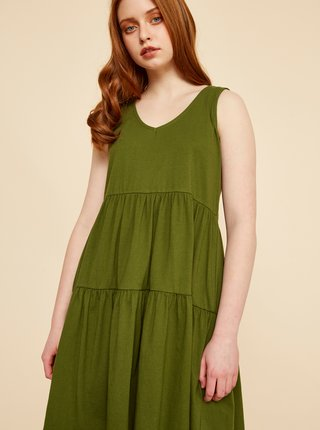 Zelené šaty ZOOT Baseline Nubia