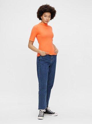 Oranžové tričko se stojáčkem Pieces Nukisa