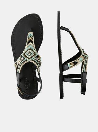 Sandále pre ženy Pieces - čierna