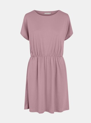 Růžové šaty Pieces Petrine