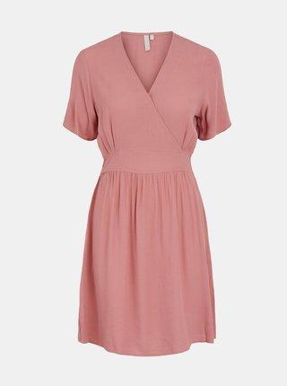 Růžové šaty Pieces Ginnie