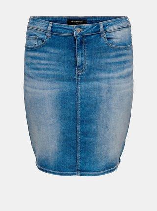 Modrá džínová sukně ONLY CARMAKOMA