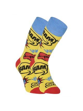 Veselé ponožky Styx vysoké Ploof