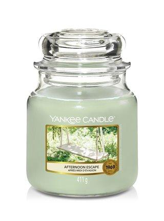 Yankee Candle vonná sviečka Afternoon Escape Classic stredná