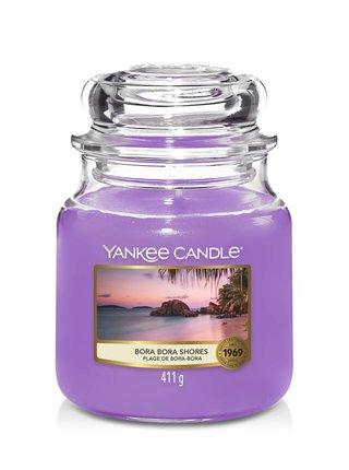 Yankee Candle vonná sviečka Bora Bora Shores Classic stredná